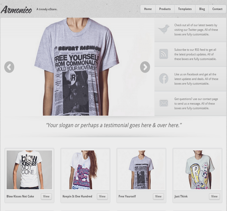 Armonico WordPress Theme