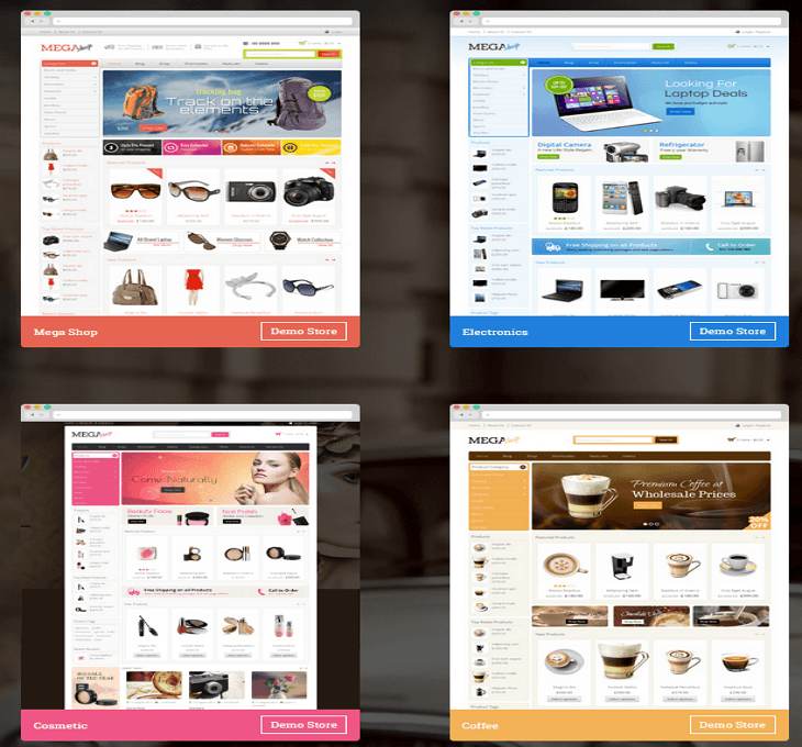 MegaShop WordPress Theme