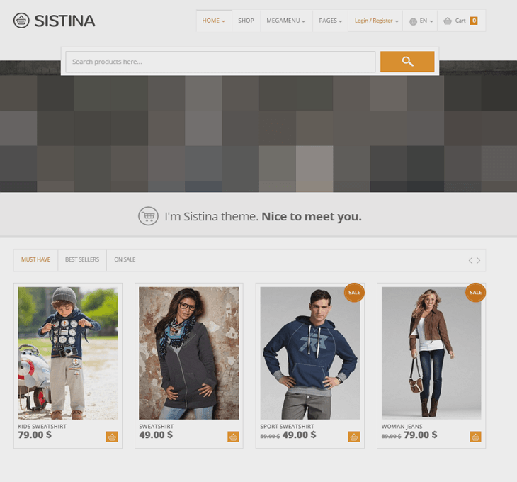 Sistina WordPress Theme