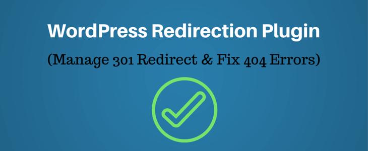 WordPress Redirection Plugin