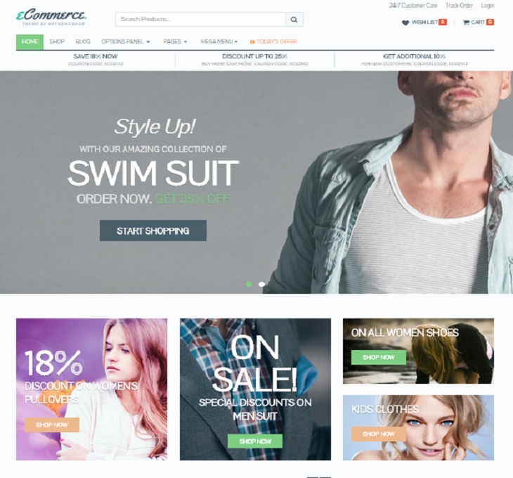 eCommerce Theme MyThemeShop