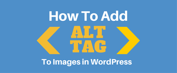 ALT Tags WordPress Images