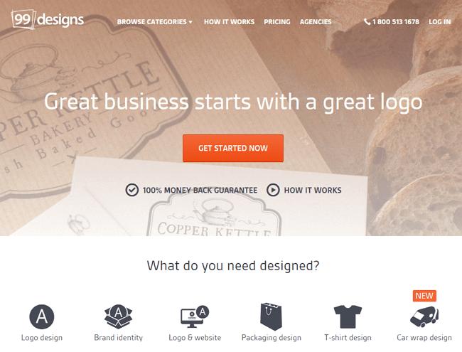 99designs logo design