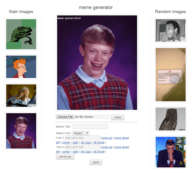 Meme Generator WordPress Plugin