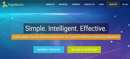 Propeller Ads Advertising Network
