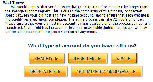 HostGator hosting type
