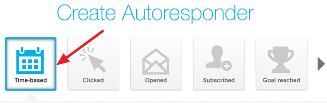 Autoresponder events