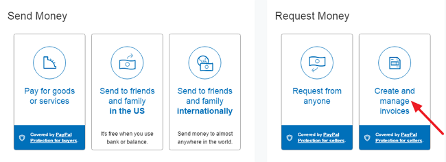 How to Send Money Request and Invoice Through Paypal 1