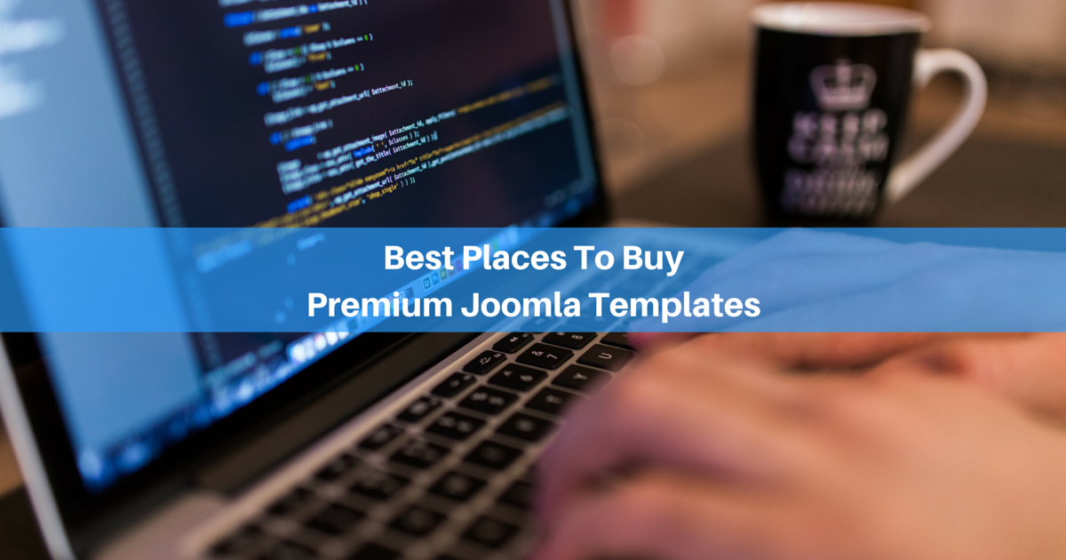 10 Best Places To Buy Joomla Templates For Sites In 2019