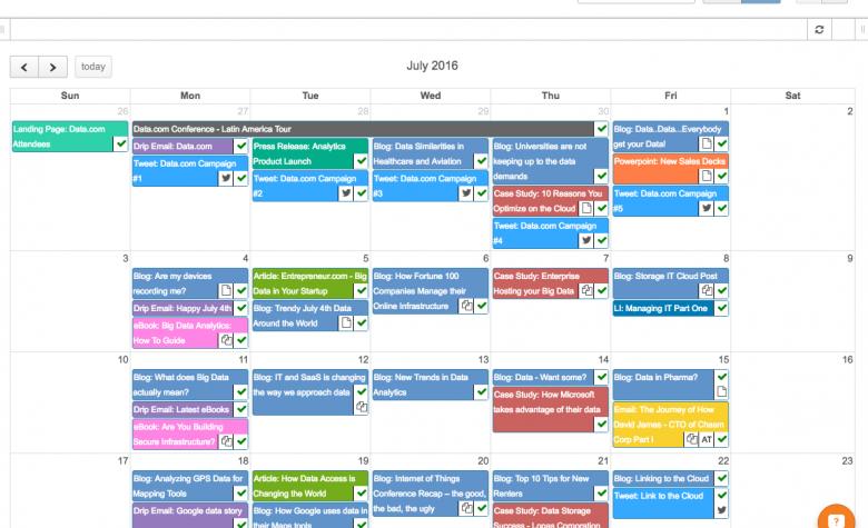 Marketo Calendar