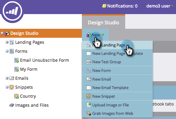 Marketo Landing Pages
