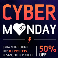 Envato Black Friday/Cyber Monday Sale 2019 - Flat 50% OFF!