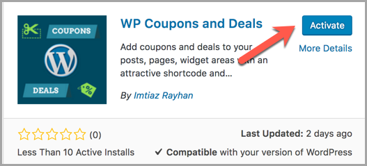 How To Add Coupon Codes In WordPress Posts & Pages 2
