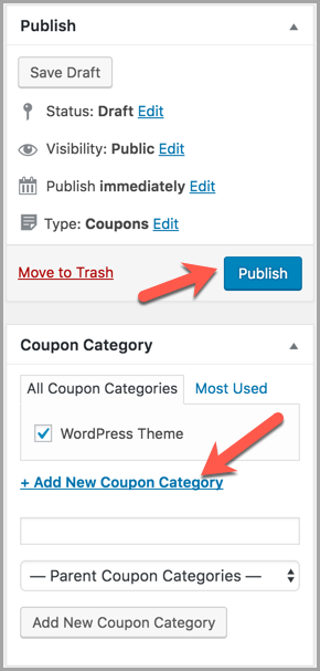 How To Add Coupon Codes In WordPress Posts & Pages 4