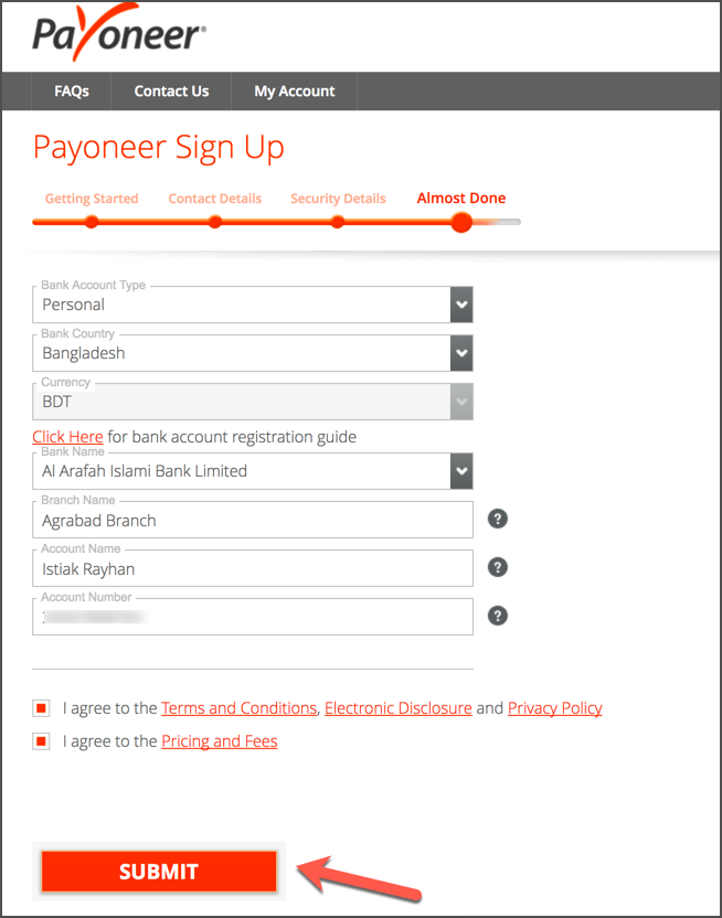 How To Sign Up For Payoneer In 2020 [With $50 Bonus] 6