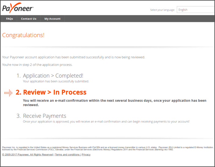 How To Sign Up For Payoneer In 2020 [With $50 Bonus] 7