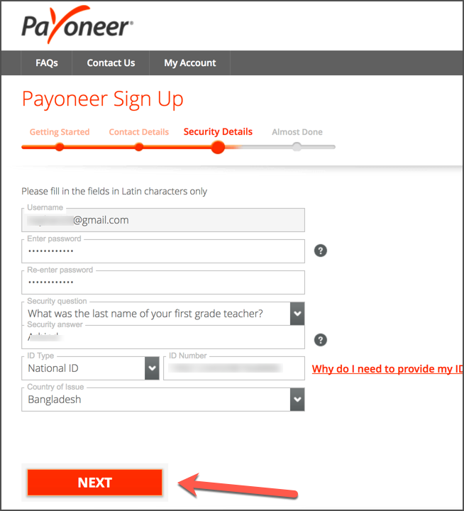 How To Sign Up For Payoneer In 2020 [With $50 Bonus] 5