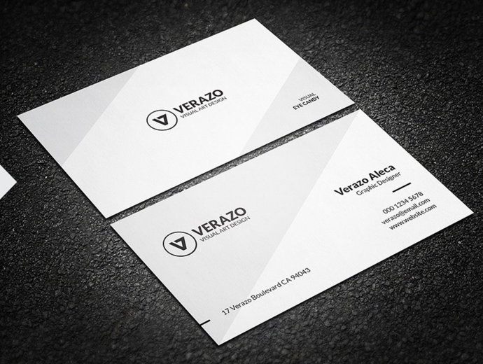 30+ Simple & Minimal Business Card Templates For 2019 4