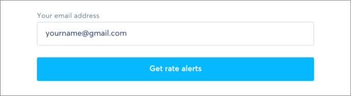 Finally Enter Your Email Address And Click On Get Rate Alerts