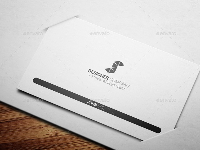 30+ Simple & Minimal Business Card Templates For 2019 19