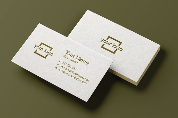 30+ Simple & Minimal Business Card Templates For 2019 30