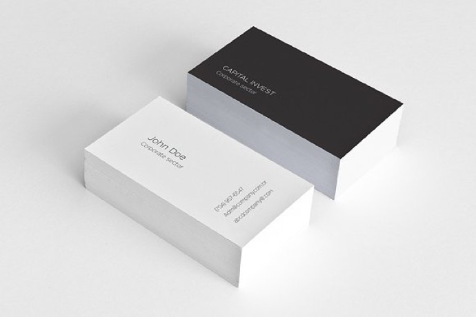 30+ Simple & Minimal Business Card Templates For 2019 31