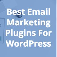 9 Best (Free & Premium) Email Marketing Plugins For WordPress In 2018 5
