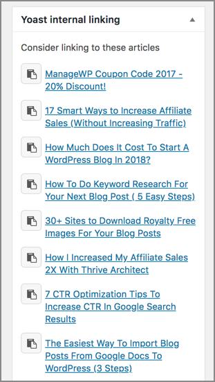3 Best Ways To Interlink Your Blog Posts Efficiently In WordPress 3