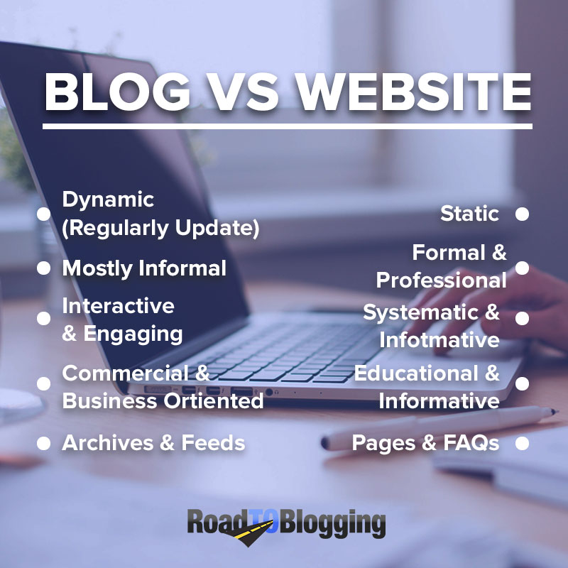 Blog Vs Website: What's the Difference? Which Is Better? 4
