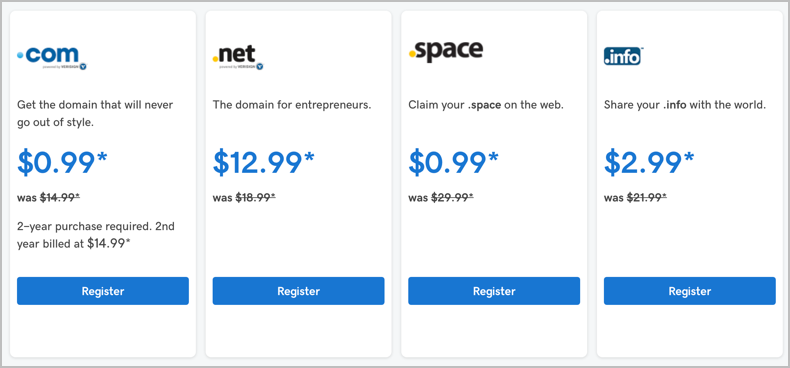 10 Best Cheap Domain Registrars Of 2018 – Starting At $0.48! 3
