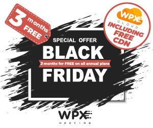 2 Best WPX Hosting Black Friday Deals 2018 – Web Hosting For $1! 1