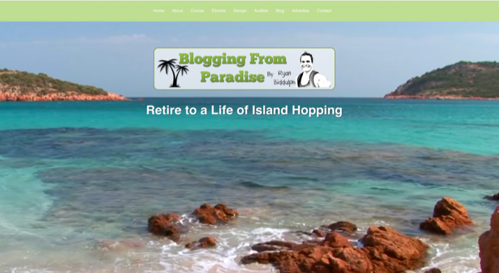 I'm Ryan Biddulph, Founder of Blogging From Paradise, and This Is How I Blog 2