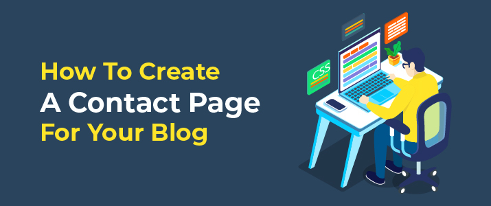 How To Create A Contact Page For Your WordPress Blog 2