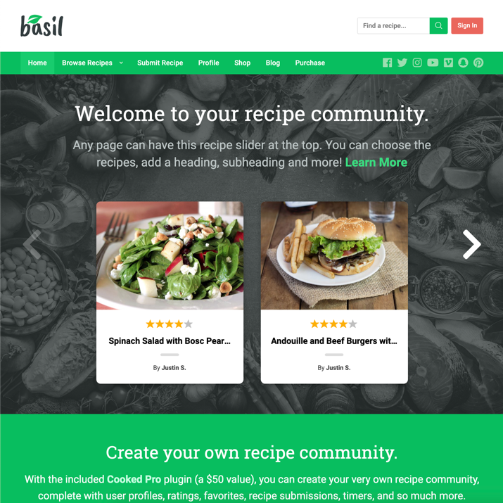 30 Best WordPress Themes For Food Blogs (2019) 9