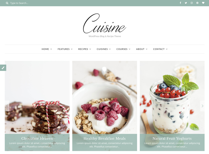 30 Best WordPress Themes For Food Blogs (2019) 28