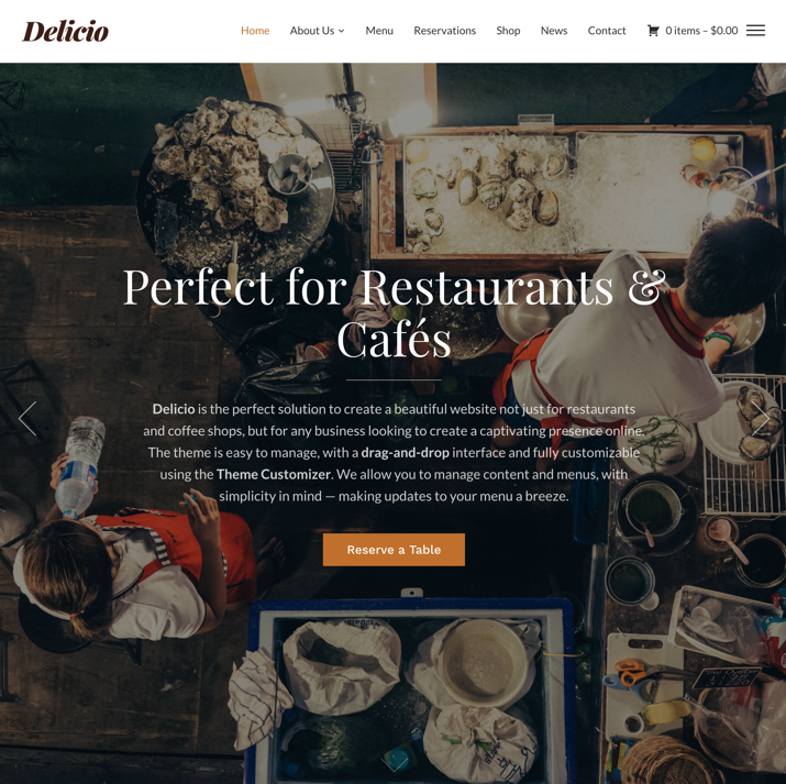 30 Best WordPress Themes For Food Blogs (2019) 12