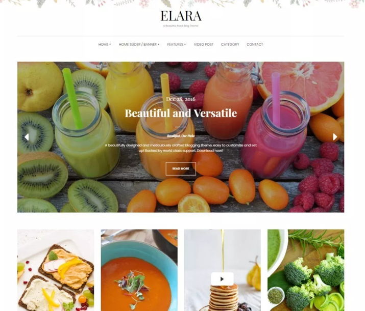 30 Best WordPress Themes For Food Blogs (2019) 26