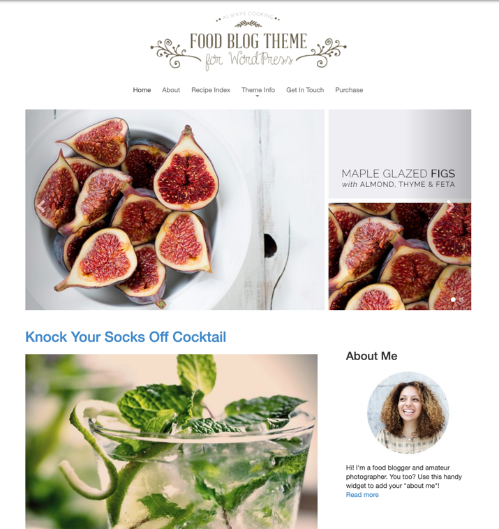 30 Best WordPress Themes For Food Blogs (2019) 19