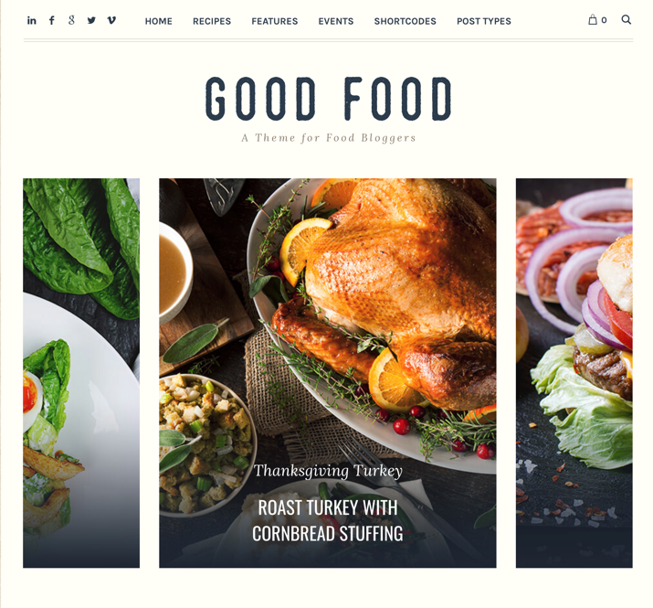 30 Best WordPress Themes For Food Blogs (2019) 29