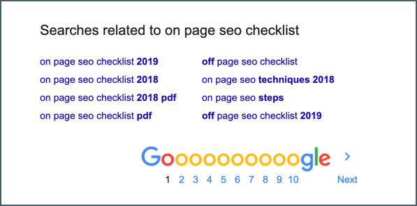 On-Page SEO Checklist: Make Your Blog Posts SEO-Friendly! 7