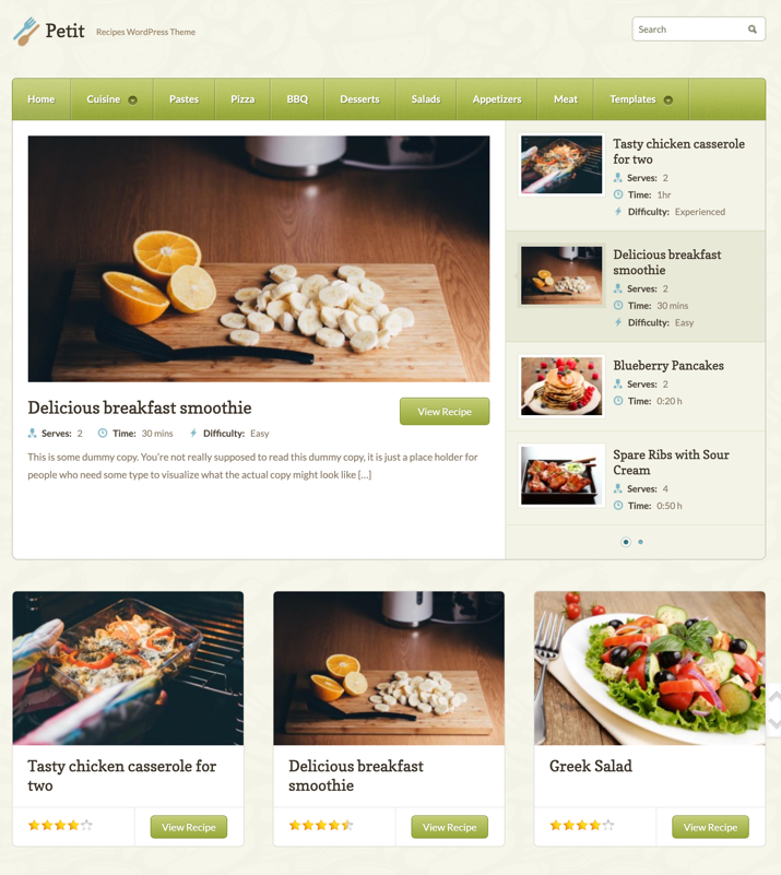 30 Best WordPress Themes For Food Blogs (2019) 21