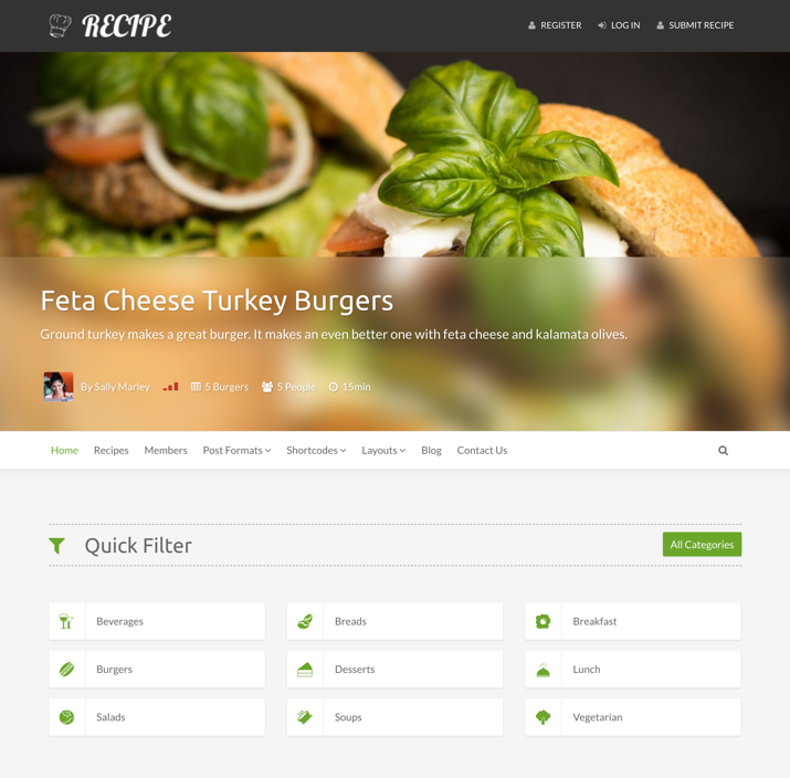 30 Best WordPress Themes For Food Blogs (2019) 22