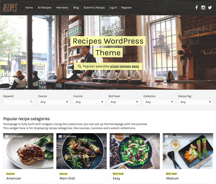 30 Best WordPress Themes For Food Blogs (2019) 27