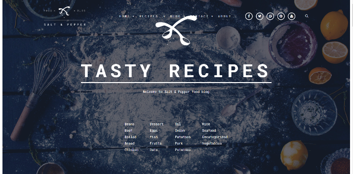 30 Best WordPress Themes For Food Blogs (2019) 23