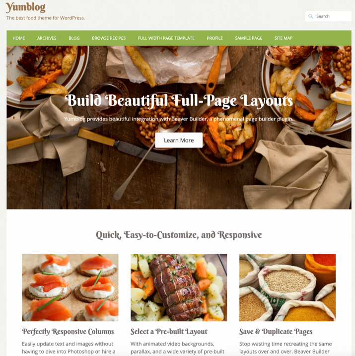 30 Best WordPress Themes For Food Blogs (2019) 18