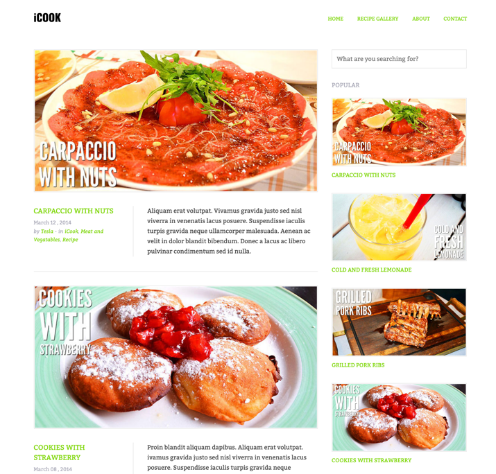30 Best WordPress Themes For Food Blogs (2019) 5