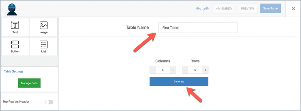 Introducing WP Table Builder - The Drag & Drop WordPress Table Plugin! 6