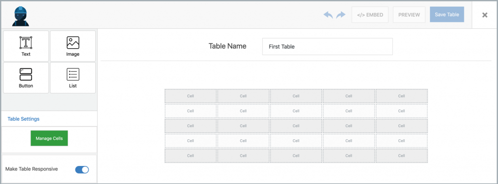 Introducing WP Table Builder - The Drag & Drop WordPress Table Plugin! 7