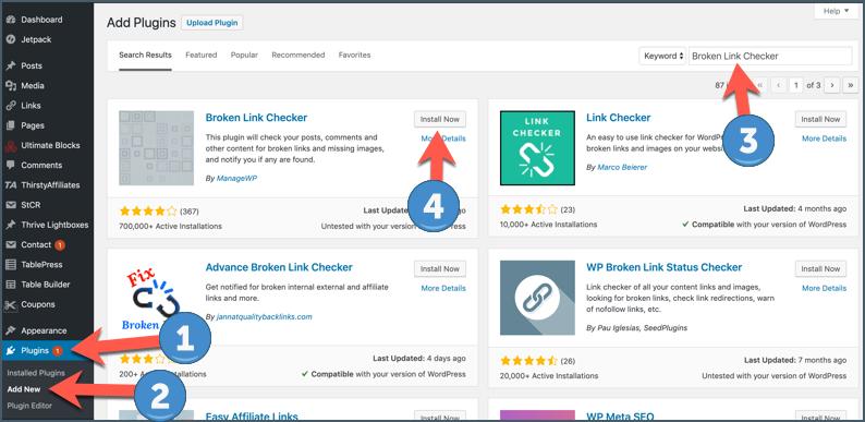 How To Find & Fix Broken Links In WordPress (Easy Method) 2
