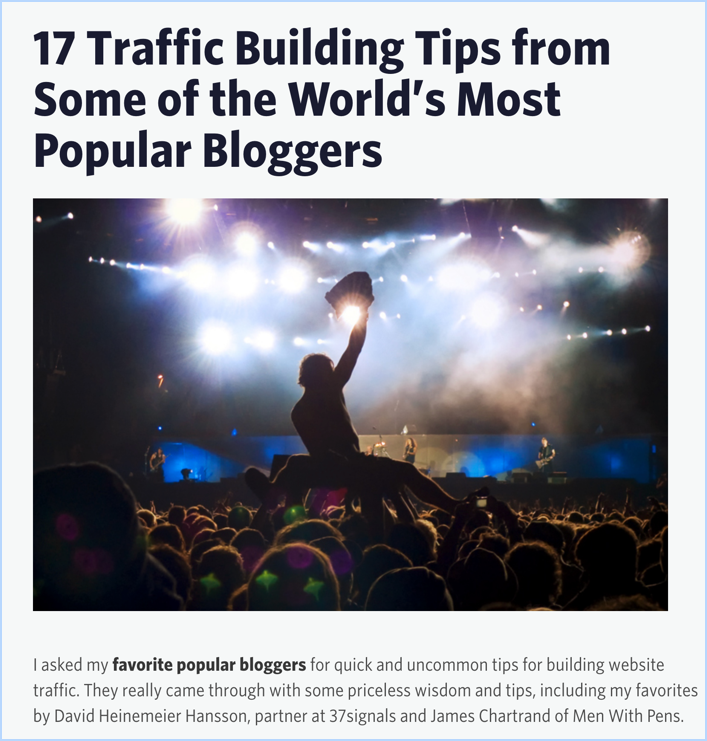 How To Create An Expert Roundup Post (7 Easy Steps) 3